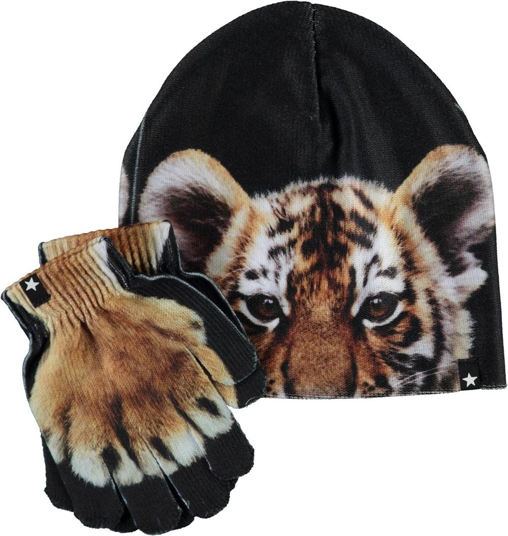Kaya - Wild Tiger - Digi knit