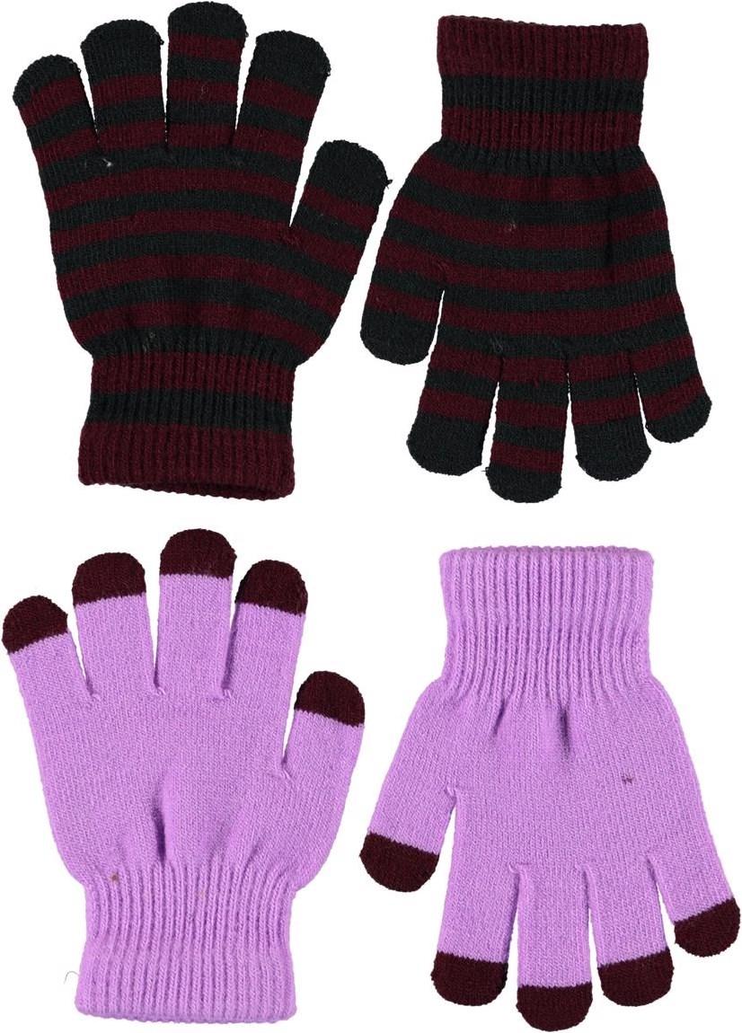 Kei - Acid Purple - Plain knit