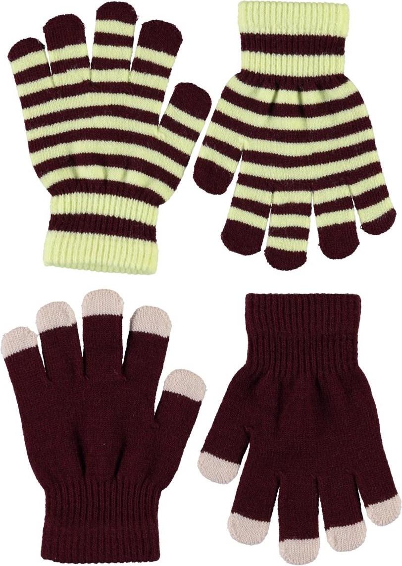 Kei - Sumak - Plain knit