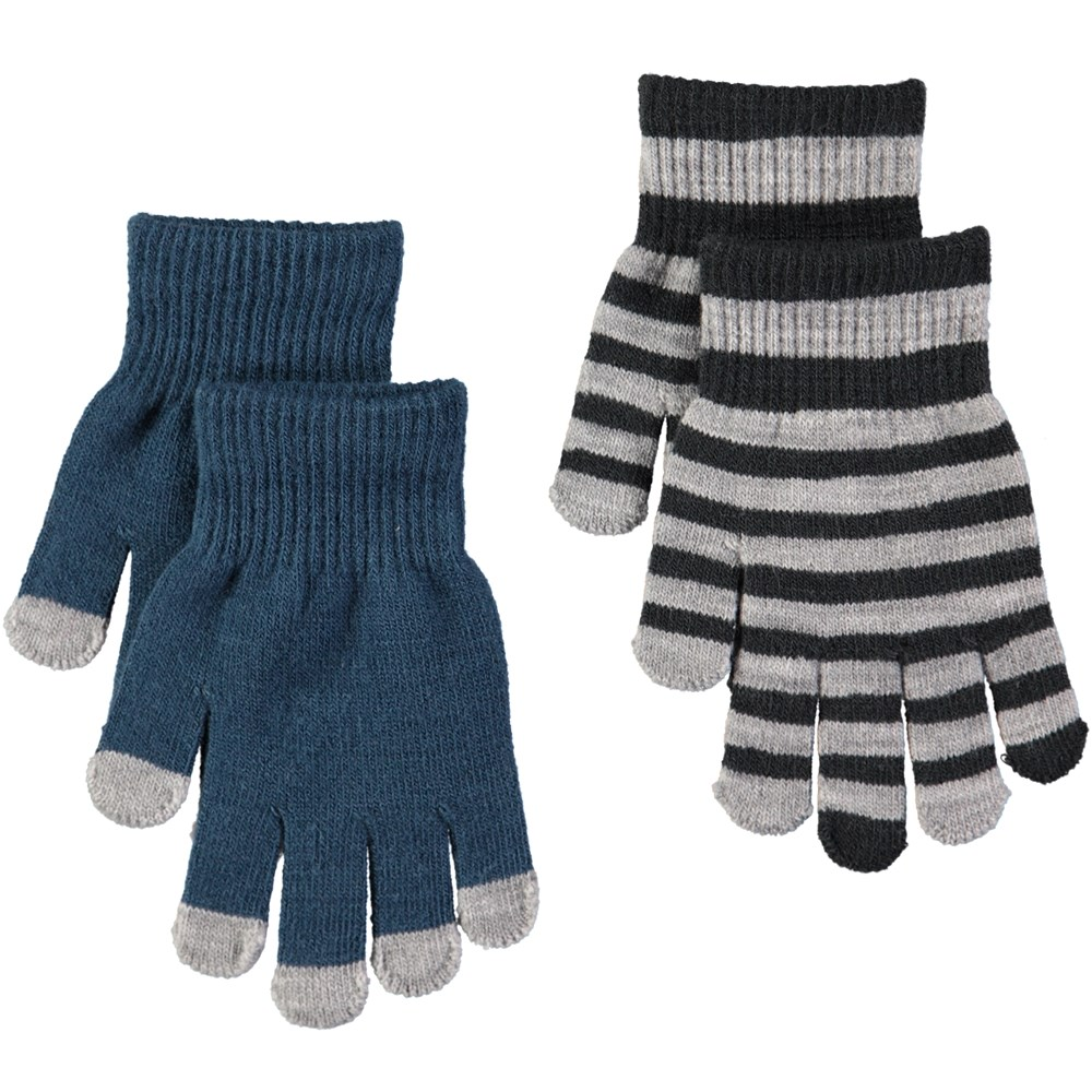 Keio - Blue Wing Teal - Two pairs of gloves