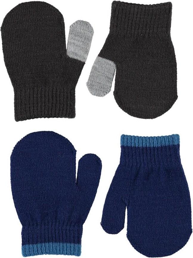Kenny - Ink Blue - Plain knit