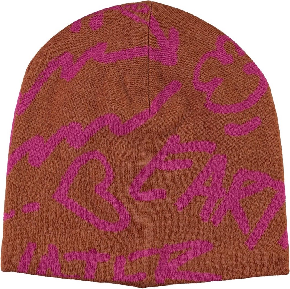 Kite - Deer - Brown hat with text