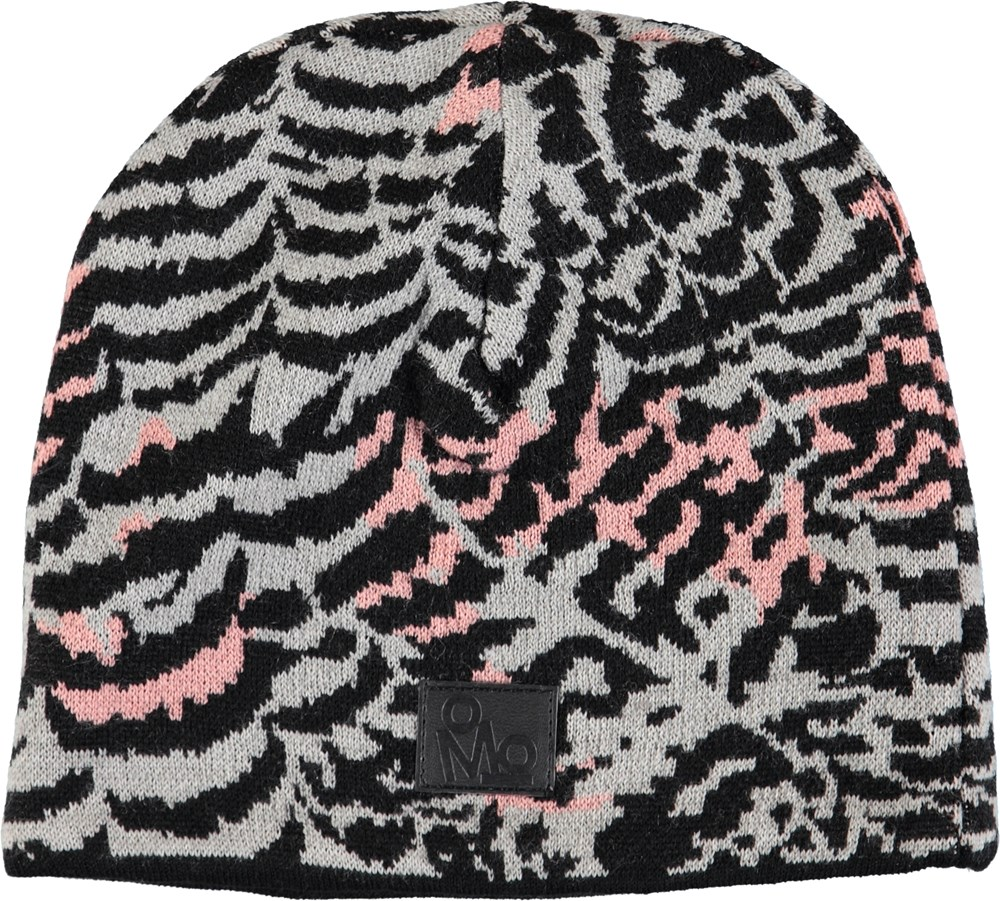 Kite - Graphic Feathers - Hat in a wool blend with graphic feather pattern