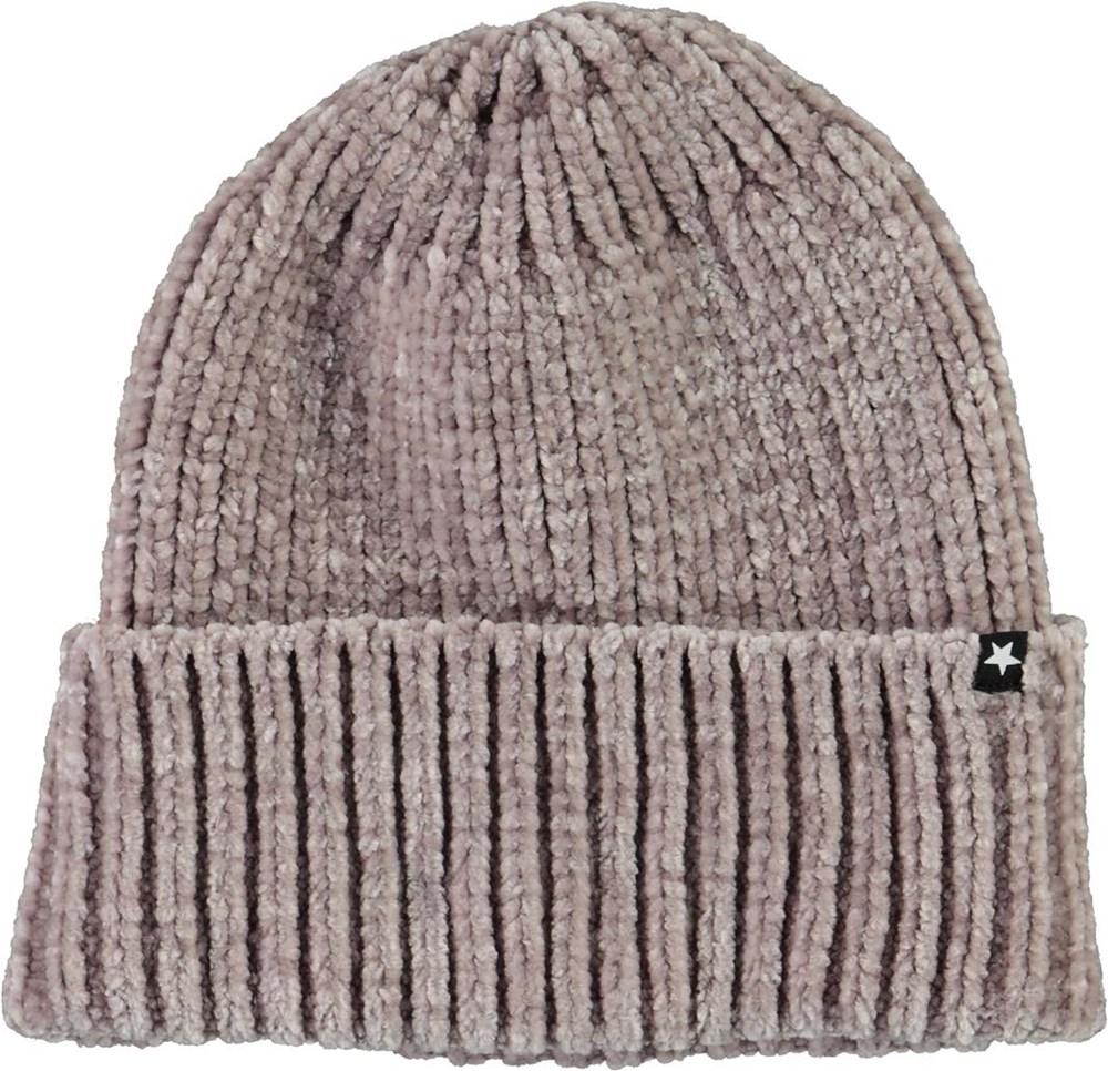 Kitty - Antarctica - Gret chenille knit hat