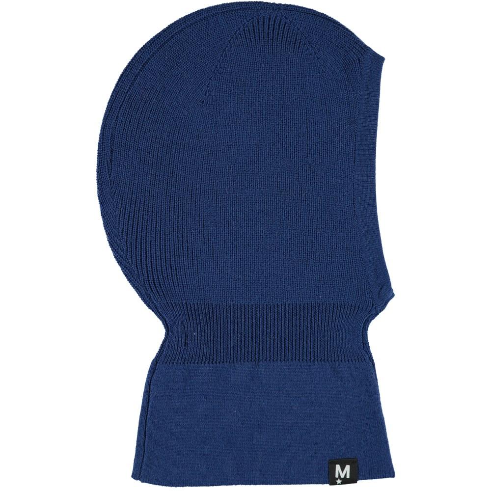 Kurt - Blue Wing Teal - Blue wool ski mask