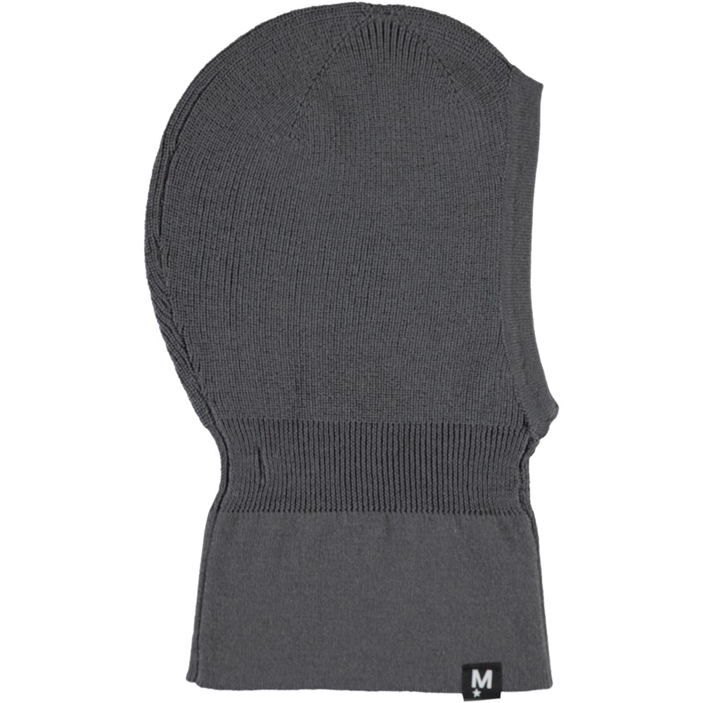 Kurt - Smokey Grey - Grey wool ski mask