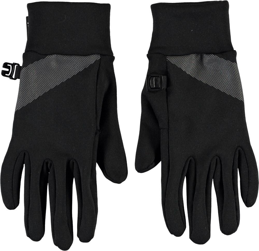 Maddock - Black - Thin black gloves