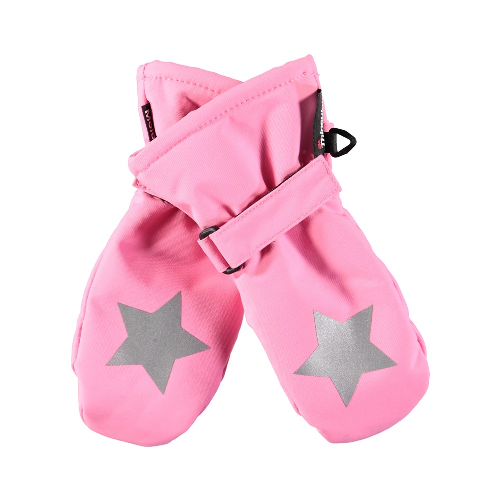 Mitzy - Total Pink - Waterproof, breathable pink mittens