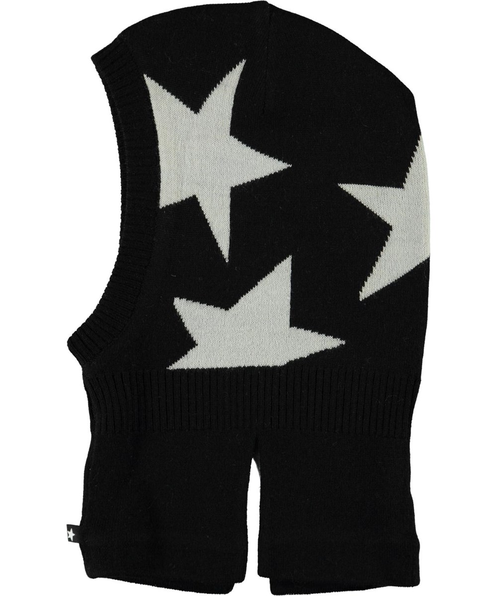 Snow - Black - Star knit