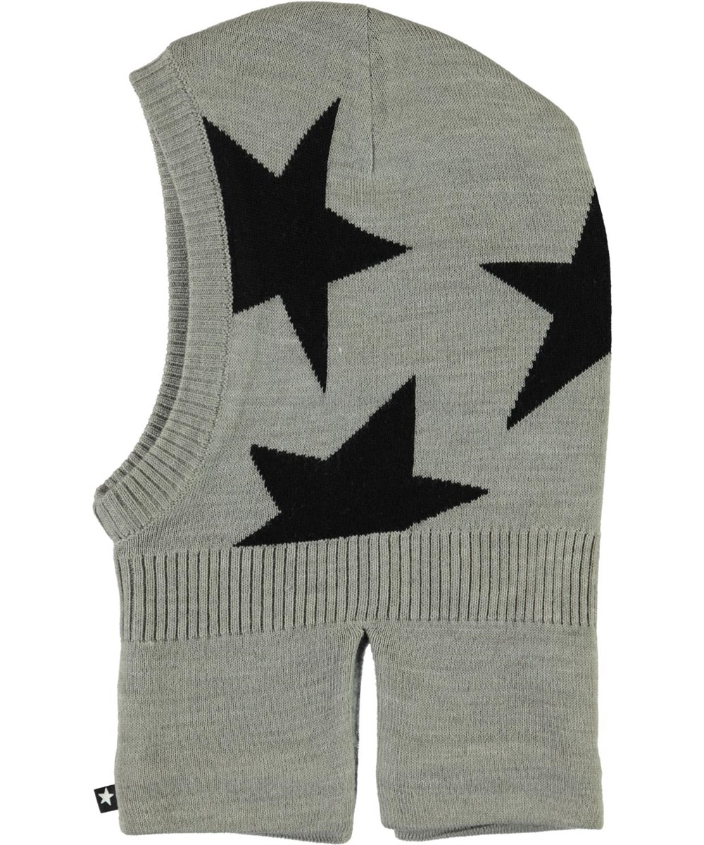 Snow - Grey Melange - Star knit