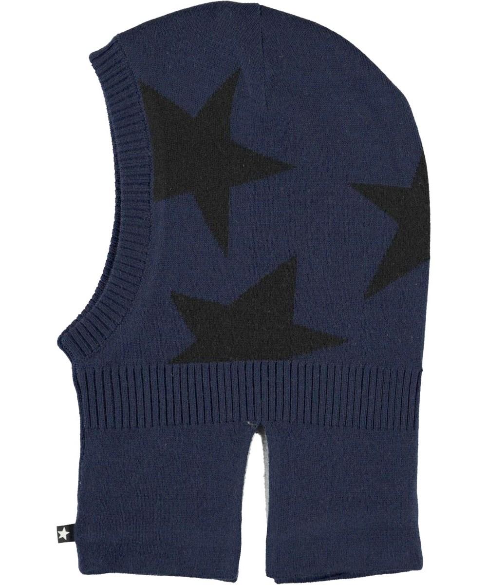 Snow - Ink Blue - Star knit
