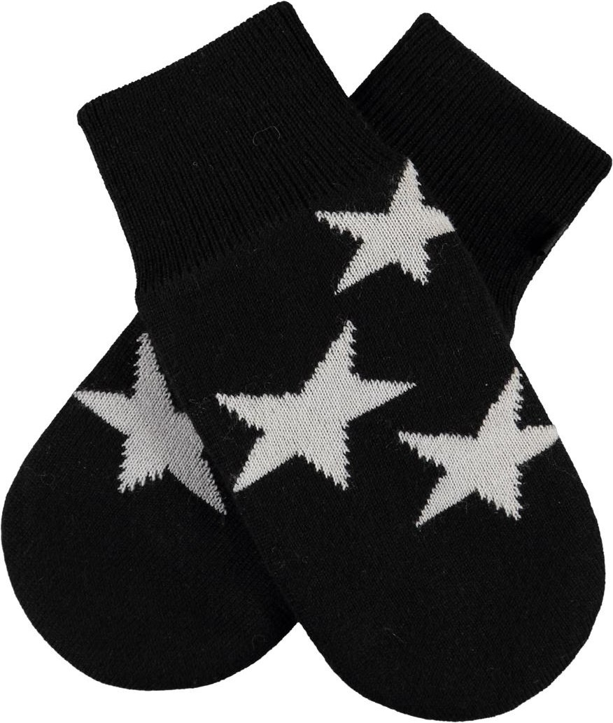 Snowfall - Black - Star knit