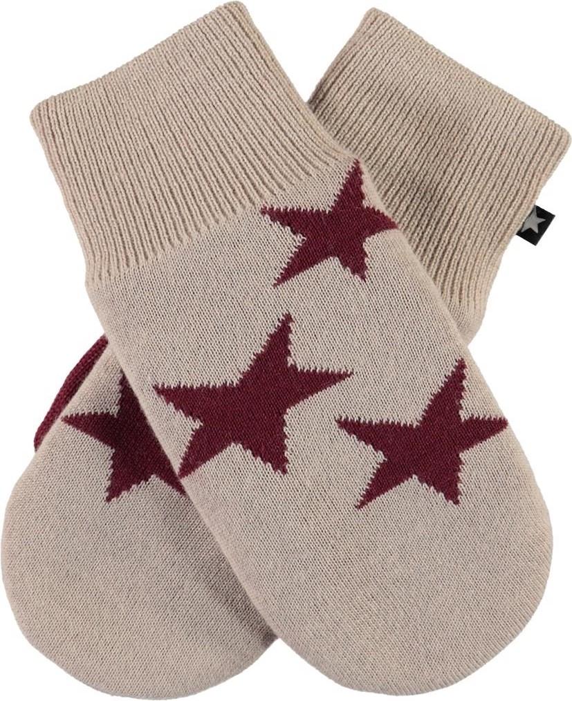Snowfall - Peach Blossom - Star knit