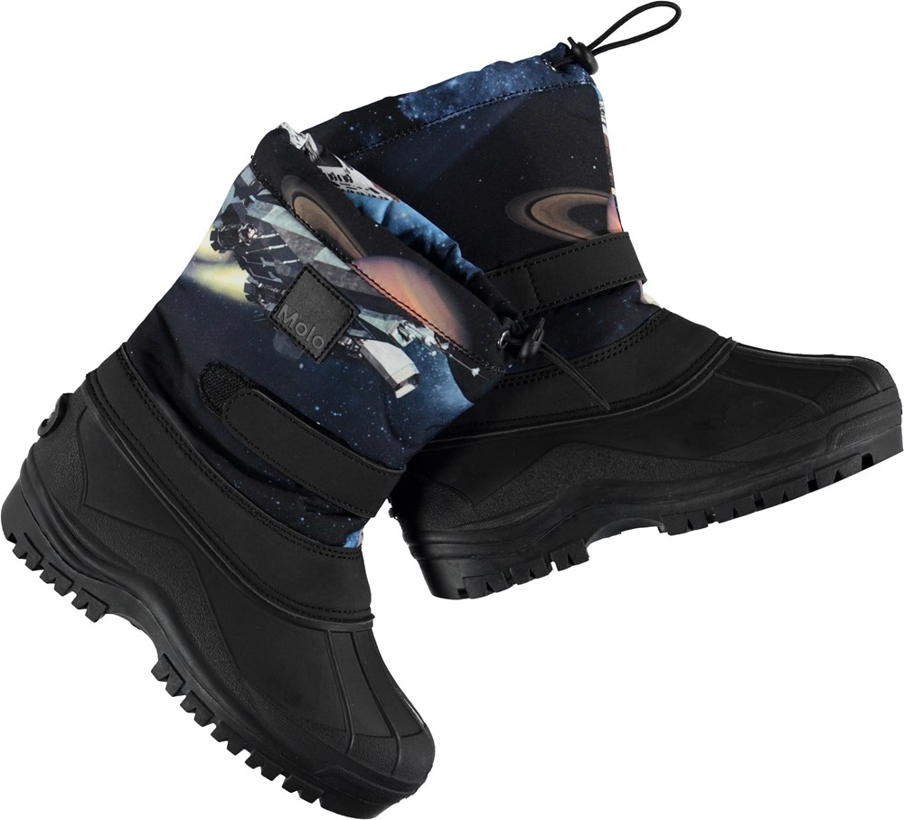 Driven - Another Galaxy - Winter boots with blue shaft.