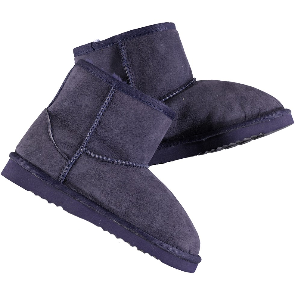 Dry - Evening Blue - Soft boots in dark blue lambskin