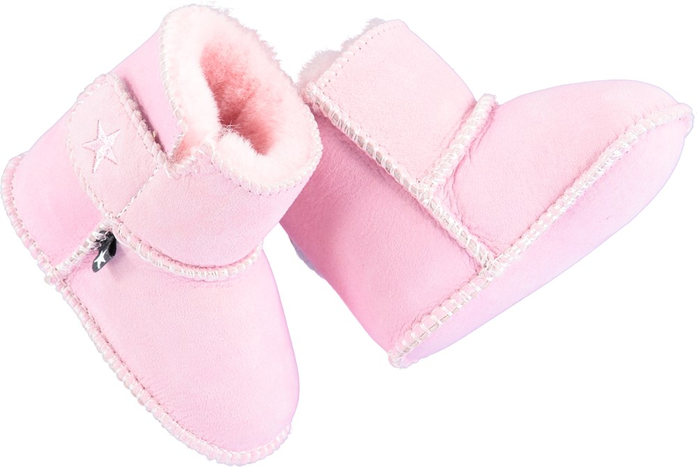 Dust - Fox Glove - Pink leather boots
