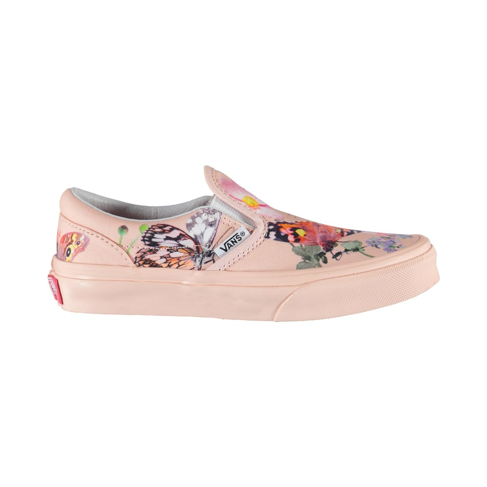 Vans x Molo 5 - Kids Slip-On Pink - Vans X Molo Trainers - Kids Slipon Pink
