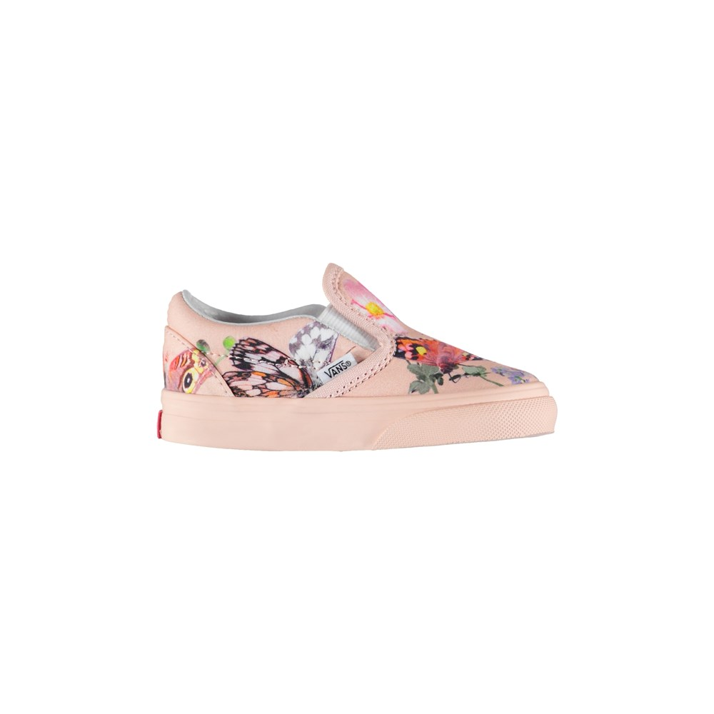 Vans x Molo 7 - Toddler Slip-On Pink - Vans X Molo Trainers - Toddler Slipon Pink