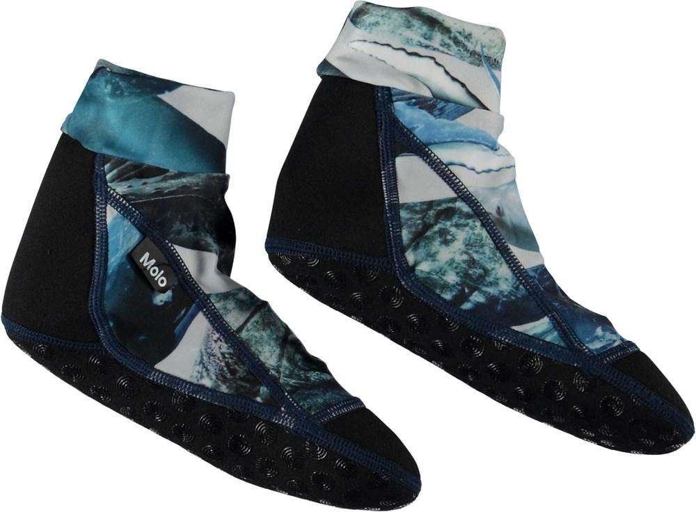 Zabi - Whales - Neoprene swim socks