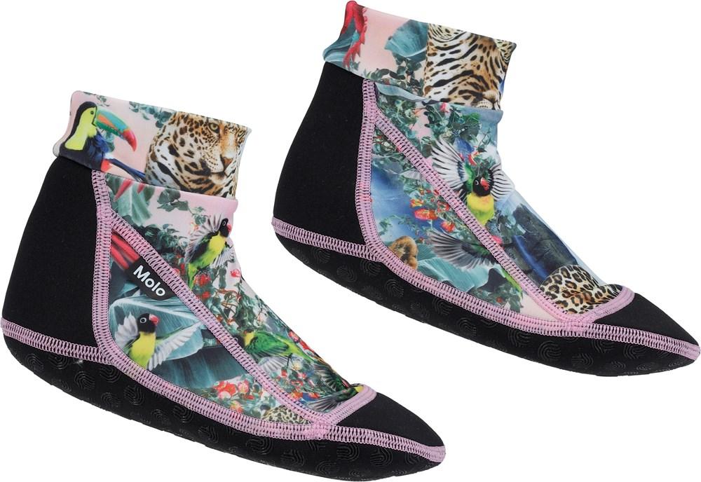 Zabi - Wild Amazon - Neoprene swim socks with wild animals
