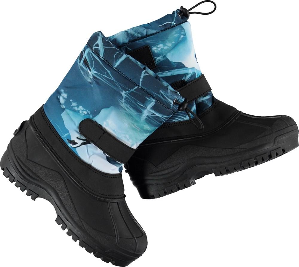 Driven - Frozen Ocean - Vinterstøvle med blåt skaft.