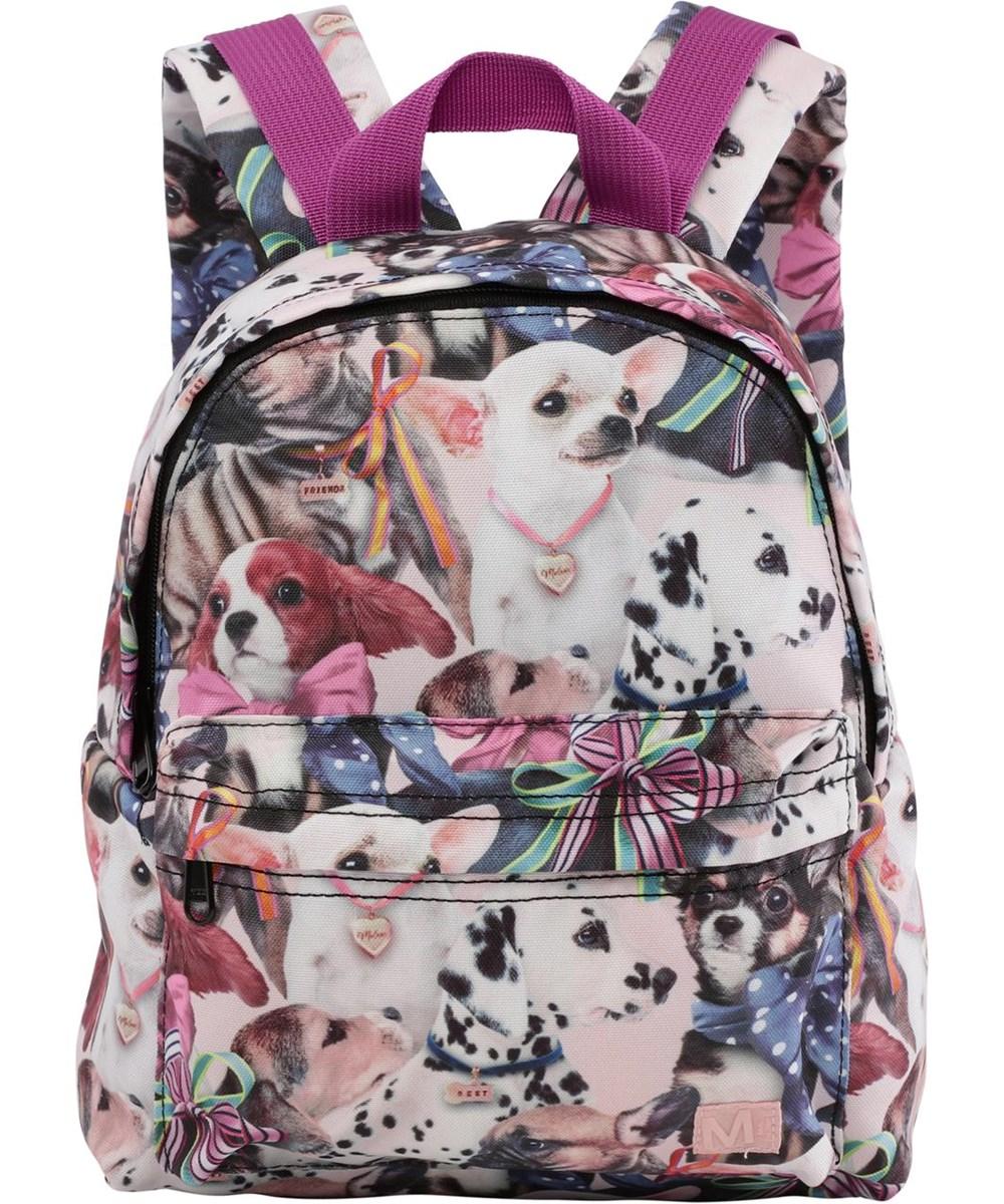 Backpack -  Puppy Love - Recycled rygsæk med hunde print