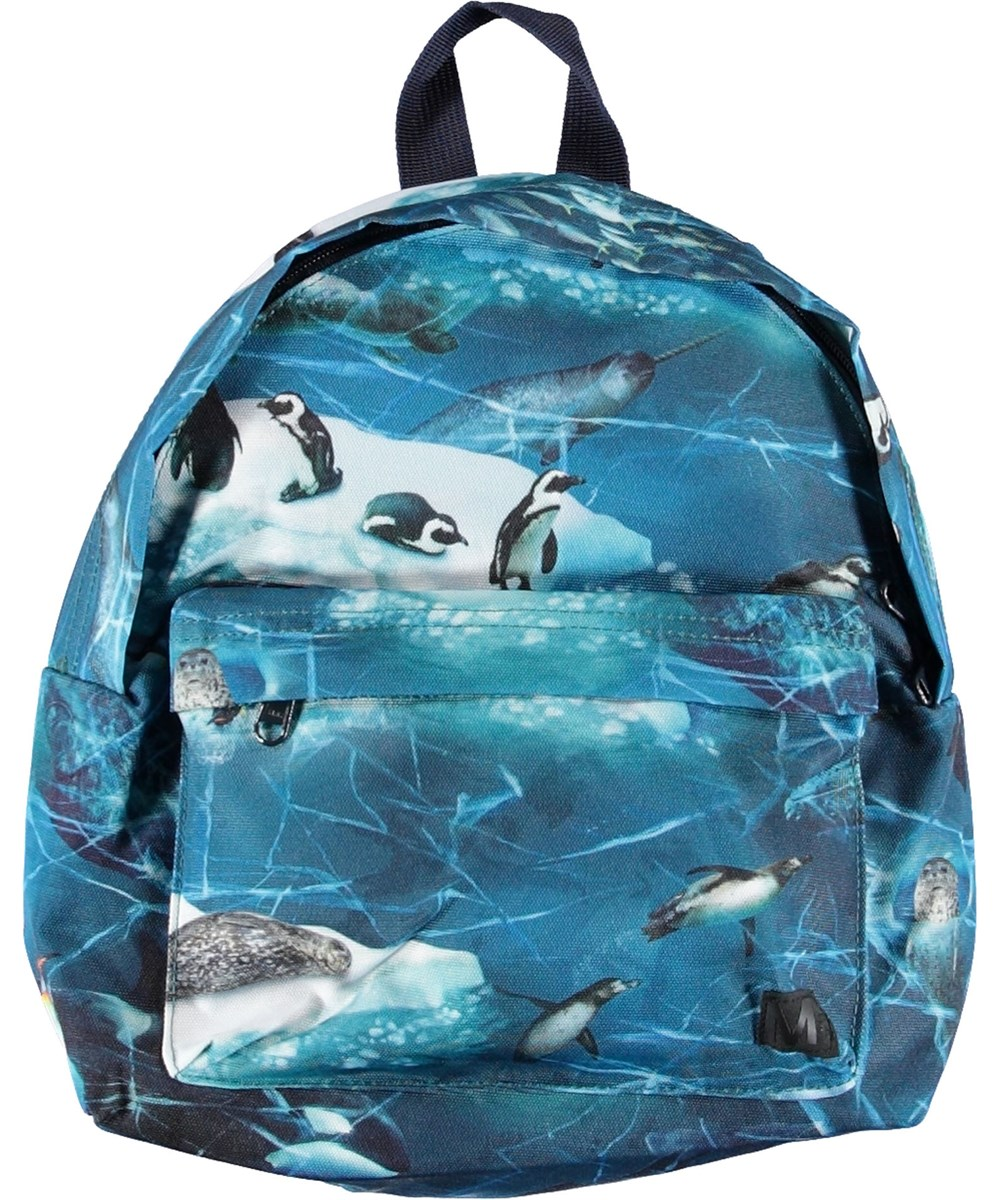 Backpack - Antarctica - Rygsæk med pingviner.