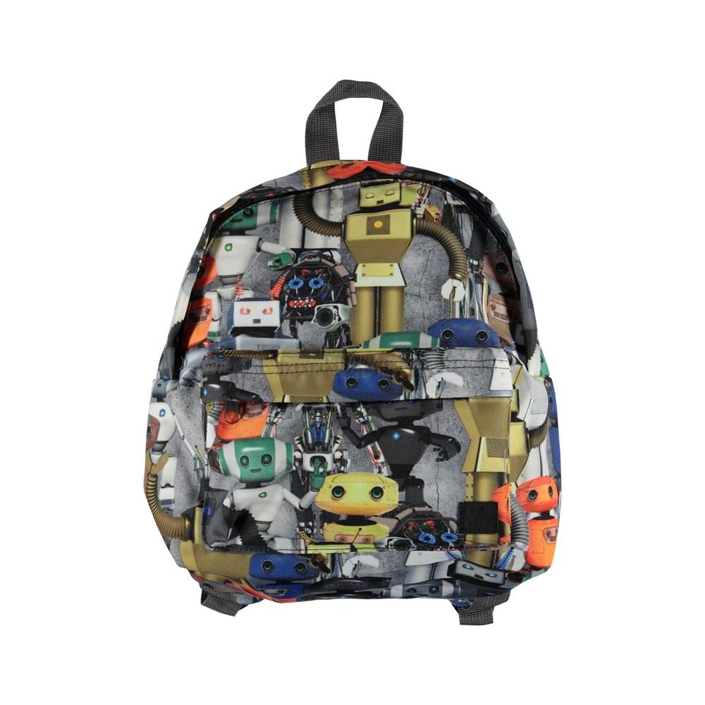 Backpack - Robots - Rygsæk med print af robotter.