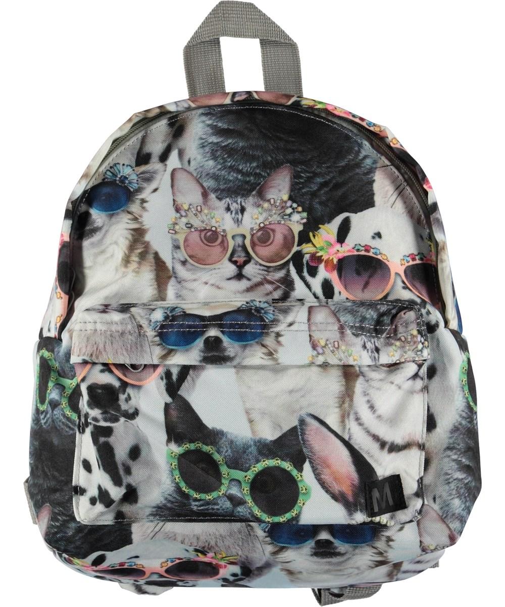 Backpack - Sunny Funny - Rygsæk med print af dyr.