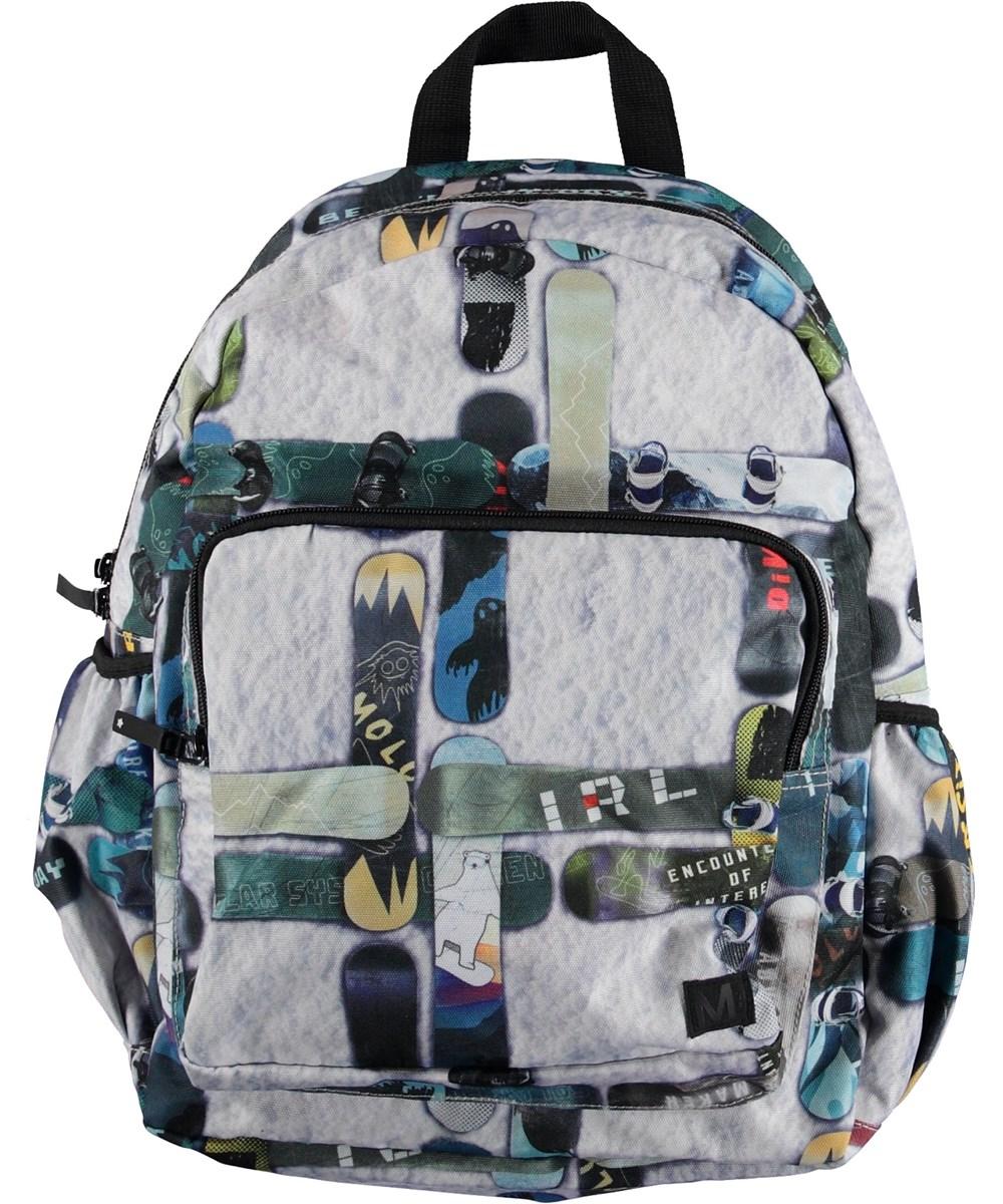 Big Backpack - Snowboard Check - Rygsæk med snowboards.