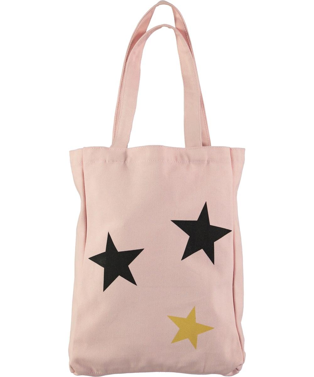 Canvas Shopper - Poppies - lyserød totebag