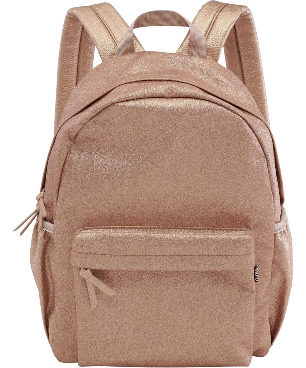 Glitter bag - Rose Copper - Rosaguld rygsæk med glimmer