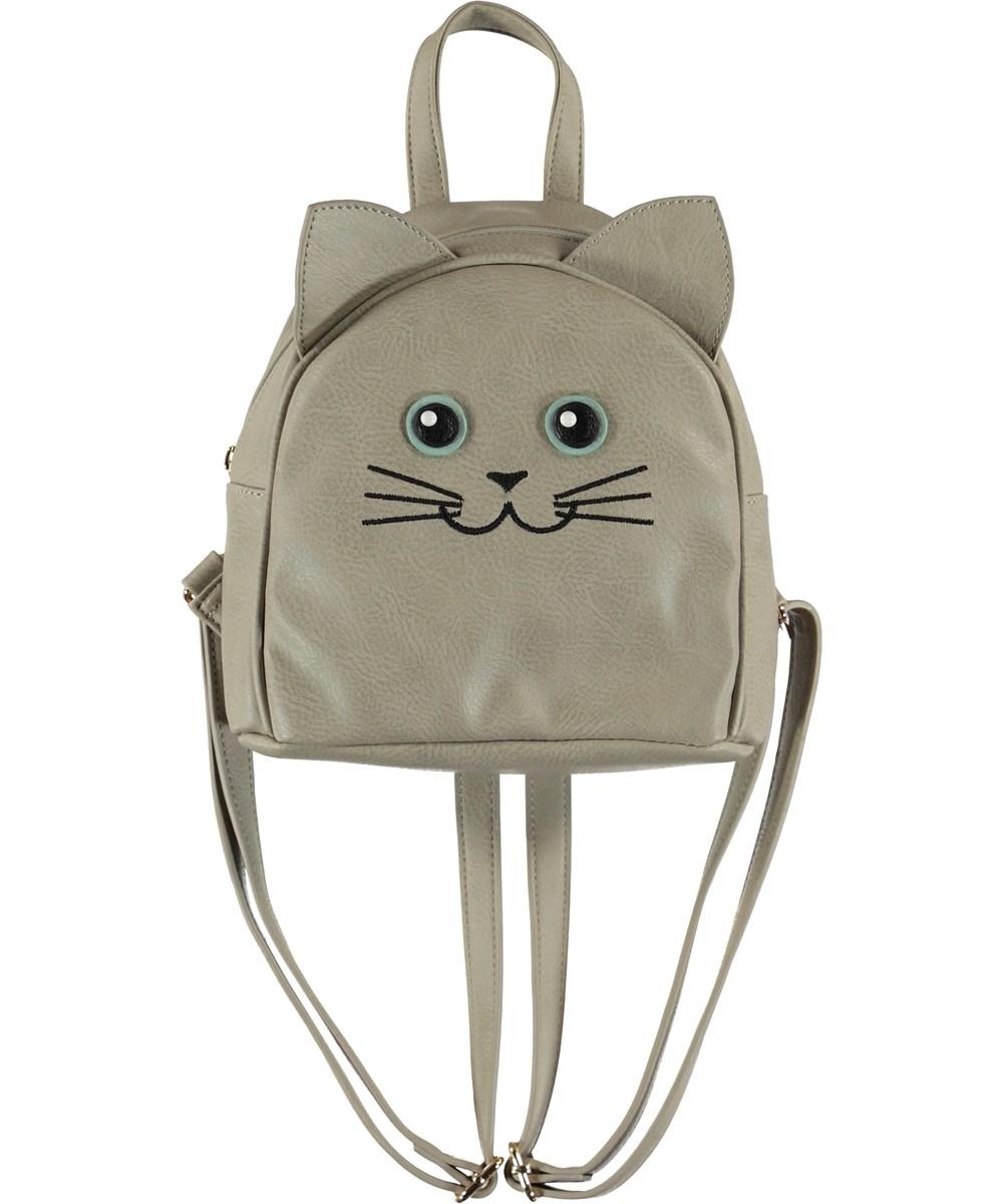 Kitty Backpack - Dappled Grey - Katte rygsæk med ører.
