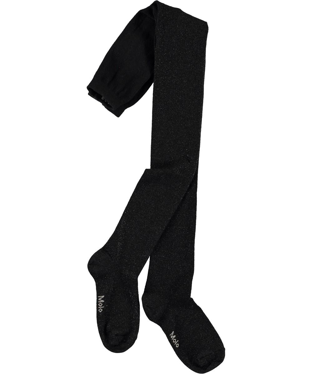 Glitter tights - Black -