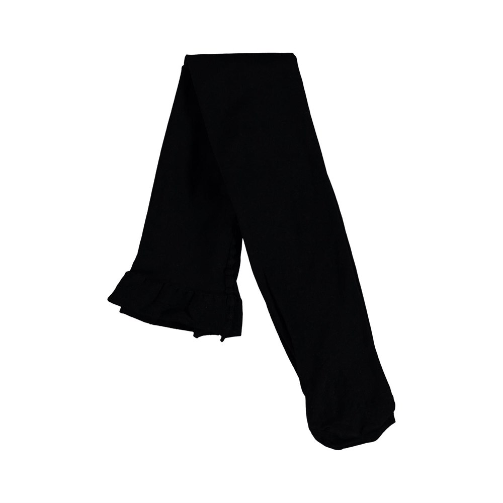 Micro Fiber Tights - Black - Two pair black tights.