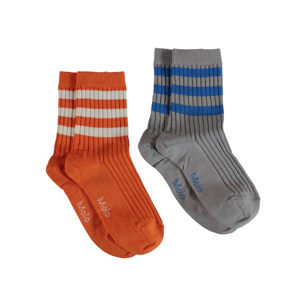 Nickey - Civilization - Sports socks with stripes.
