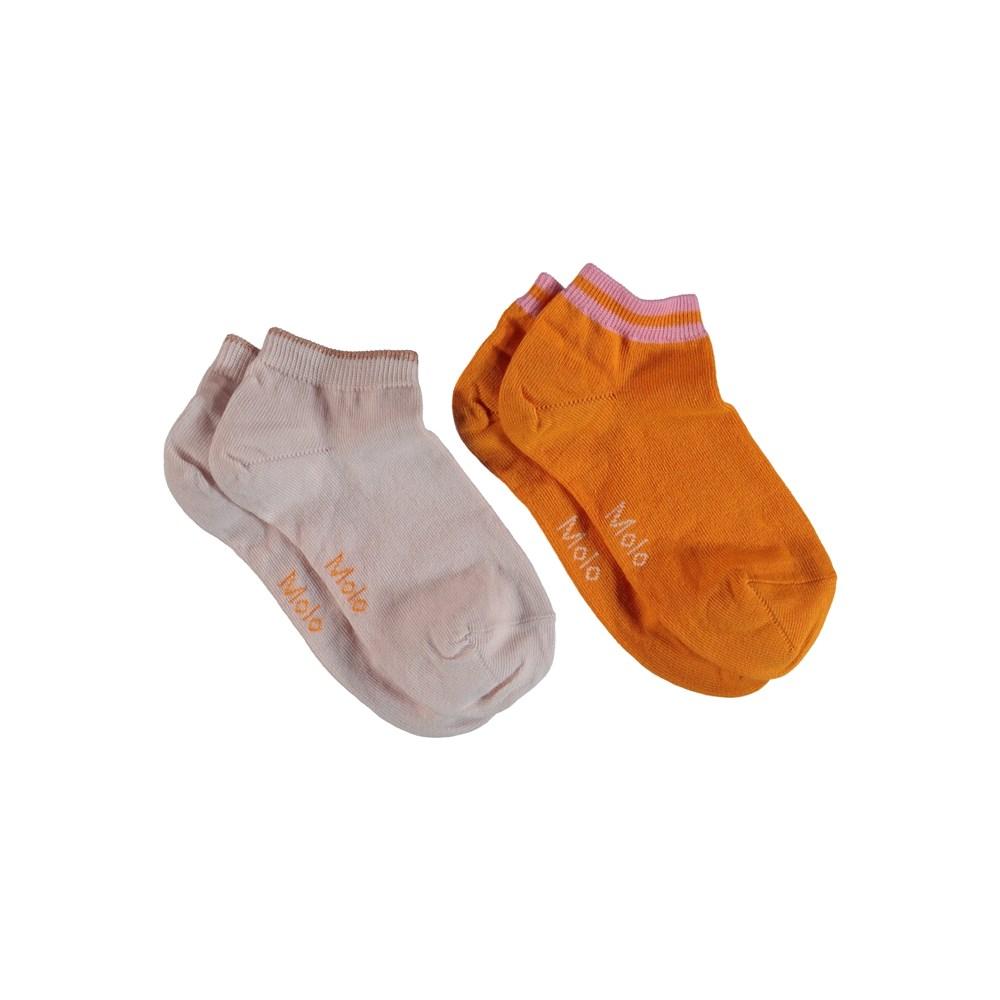 Noja - Orange Bloom - Ankle Socks