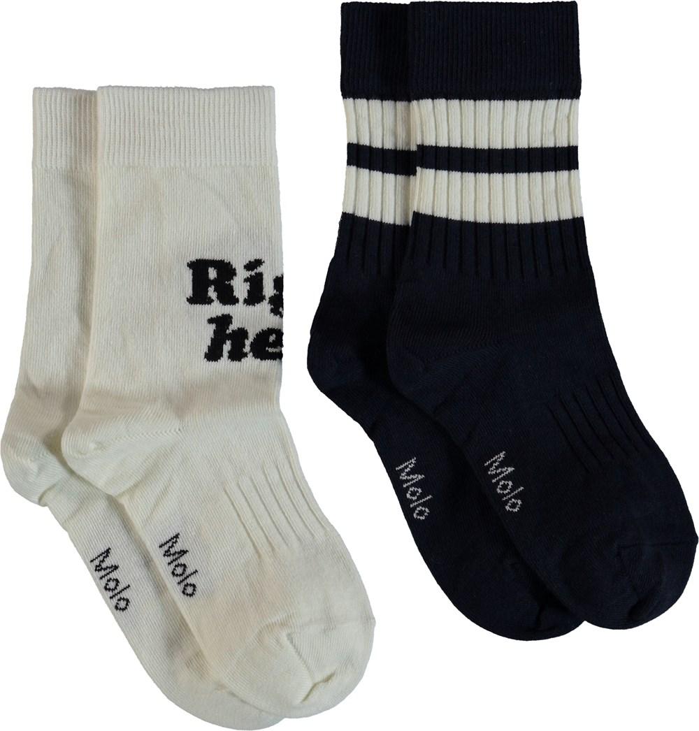 Norman - Dirty White - Socks - Dirty White