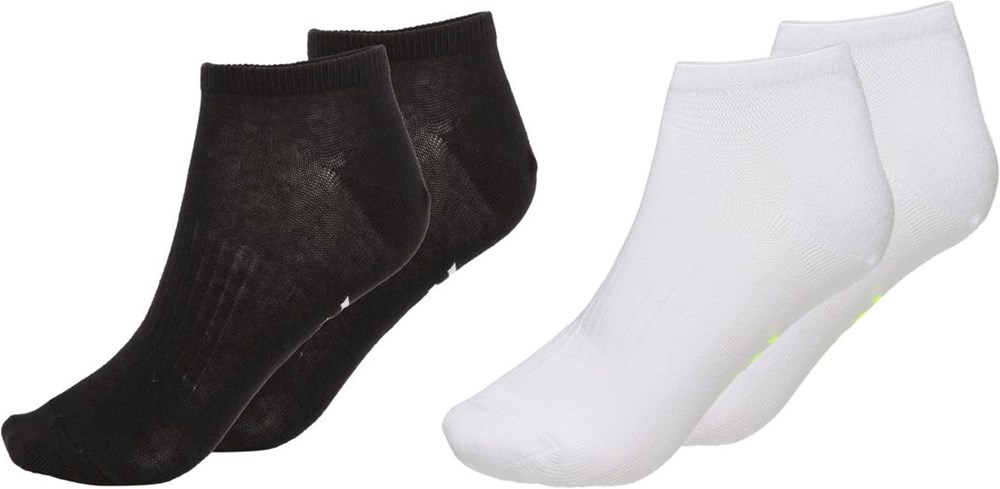 North - Black - Two pairs of ankle socks