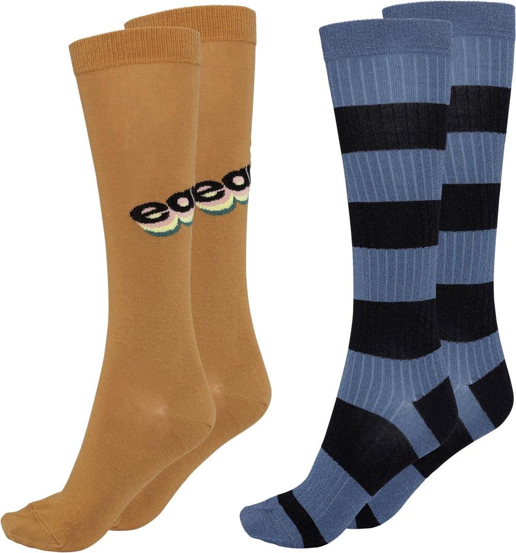 Norvina - Deer - Two pairs long socks equal