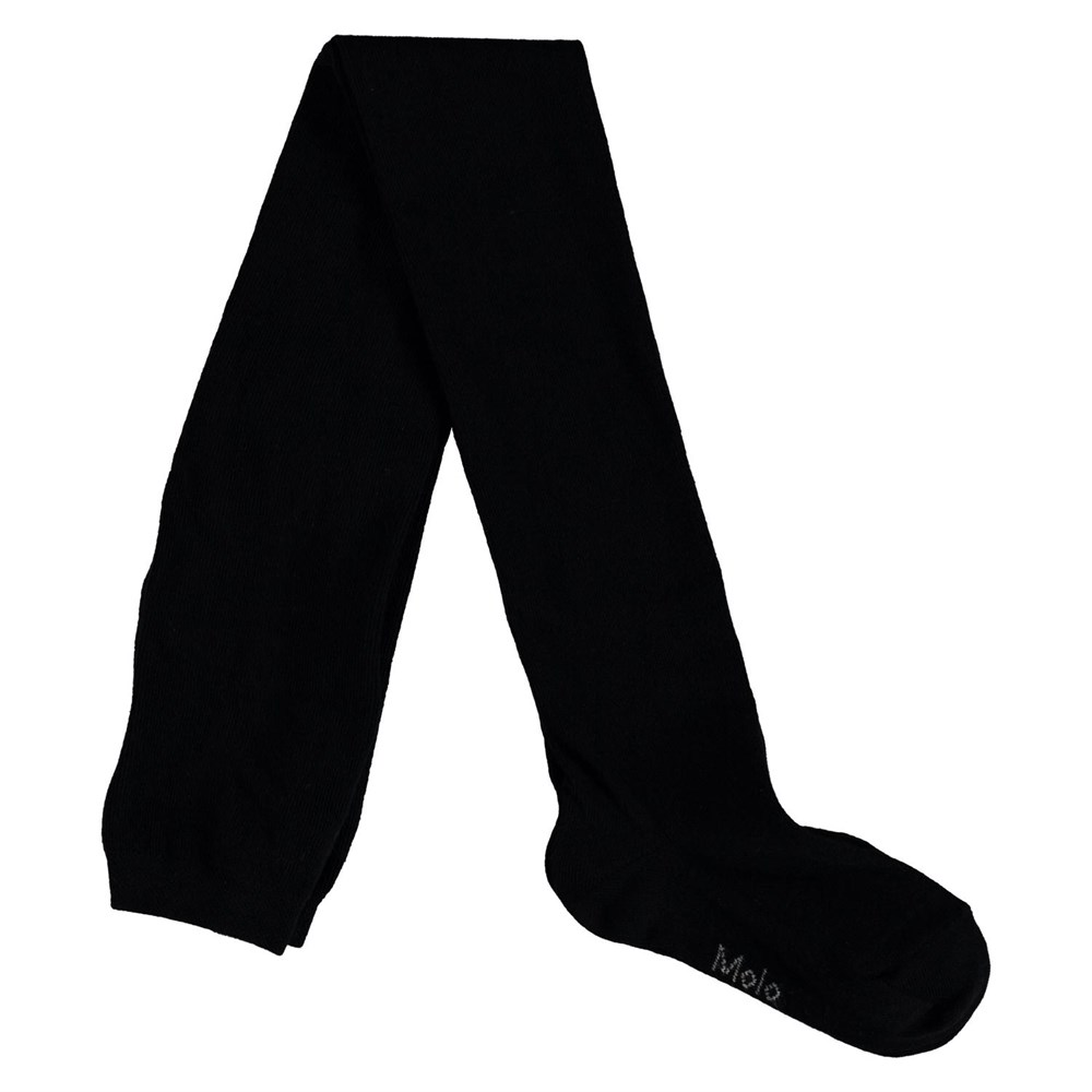 Solid Tights - Black - Black tights.