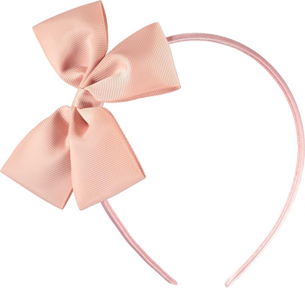 Fancy Bow Hairband - Powder - Lyserød sløjfe hårbøjle