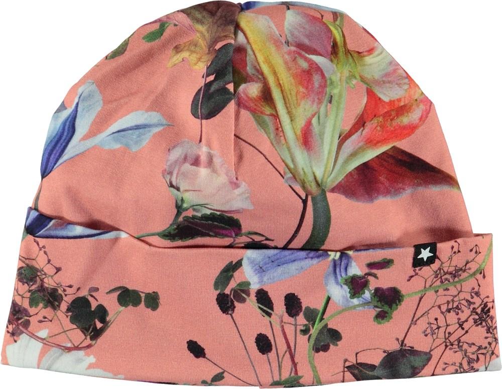 Namora - Flowers Of The World - Blomstret hue med ombuk.