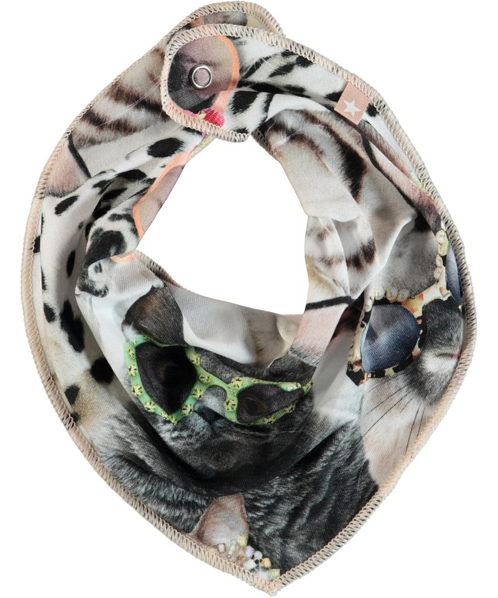 Nayela - Sunny Funny - Hagesmæk med print af dyr.
