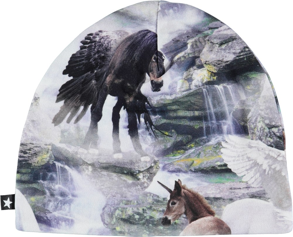 Nedine - Mythical Creatures - Babyhue med enhjørninge.