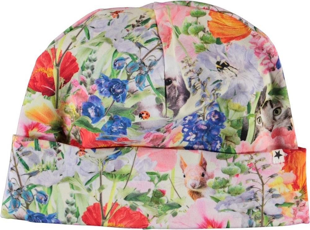 Nico - Hide And Seek - Hue med print af blomster