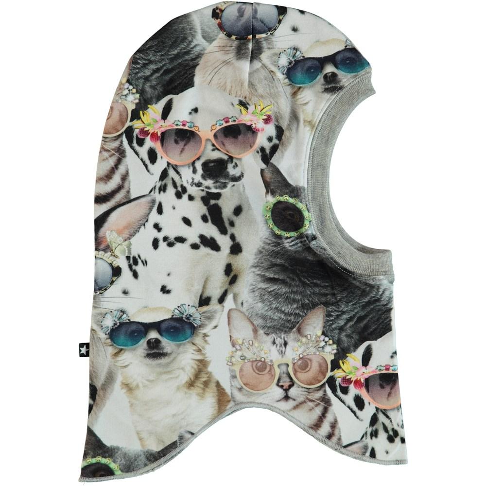 Novella - Sunny Funny - Elefanthue med print af dyr.