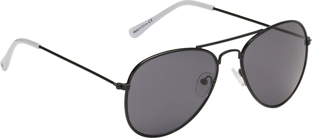 Sheriff - Black - Smarte, sorte solbriller i retro look