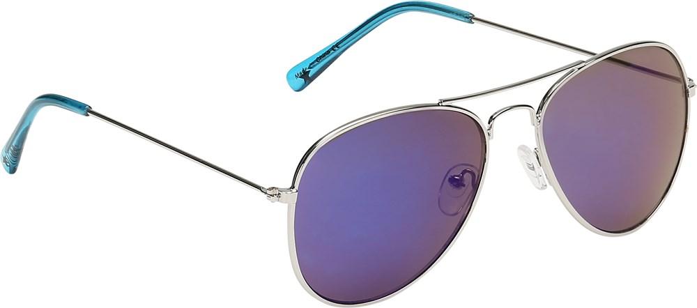 Sheriff - Ibiza Blue - Smarte, blå solbriller i retro look