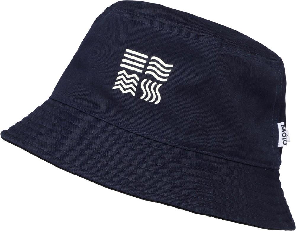 Siks - Navy Black - Mørkeblå bøllehat